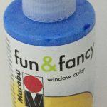 Fensterfarbe azurblau