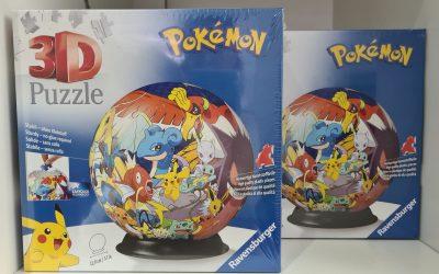 3D-Pokemon-Puzzle von Ravensburger
